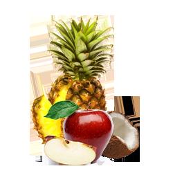 Apple Pineapple Coconut