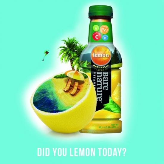 Bare Nature Vitamin Iced Tea - Lemon