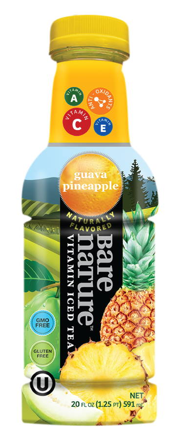 Bare Nature Vitamin Iced Tea - Guava Pineapple