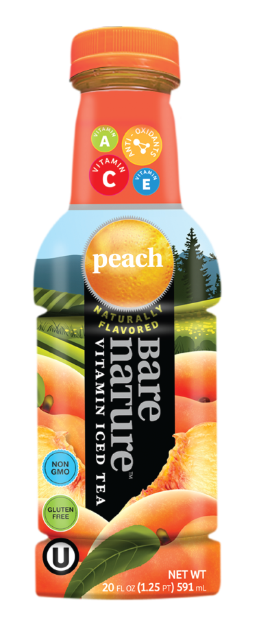 Bare Nature Vitamin Iced Tea Peach