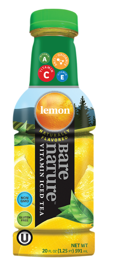 Bare Nature Vitamin Iced Tea - Lemon